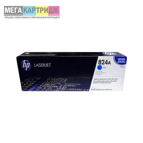 Картридж HP Color LJ CP 6015/CM 6030/6040 CB381A (824A) Toner Cartr син (21K) (o)