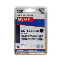 Картридж Brother MFC-J6510/6710/6910 (LC1240BK) ч  (16,6ml, Pigment) MyInk