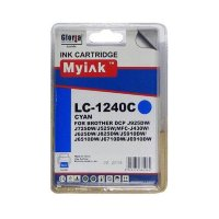 Картридж Brother MFC-J6510/6710/6910 (LC1240C) син (9,6ml, Dye) MyInk