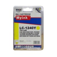 Картридж Brother MFC-J6510/6710/6910 (LC1240Y) желт (9,6ml, Dye) MyInk